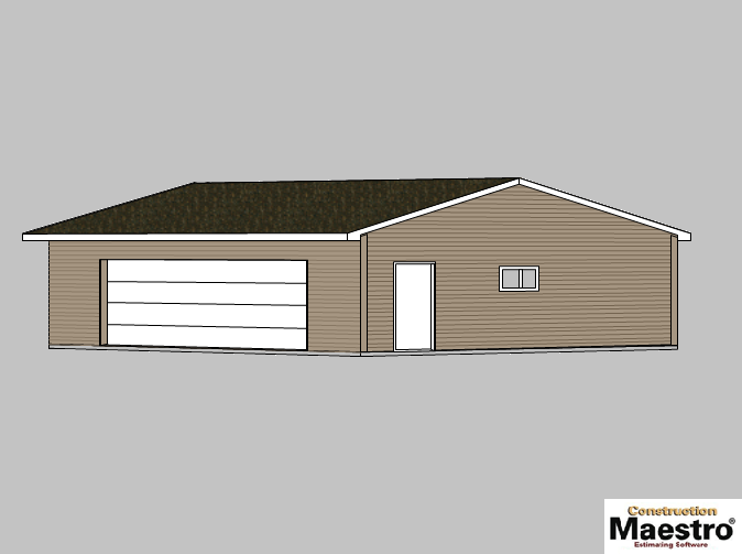 Garage Plans 171 Carson City Lumber